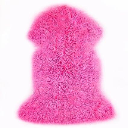 Amazon.com: Tibetano/piel de cordero de Mongolia Pelt ...