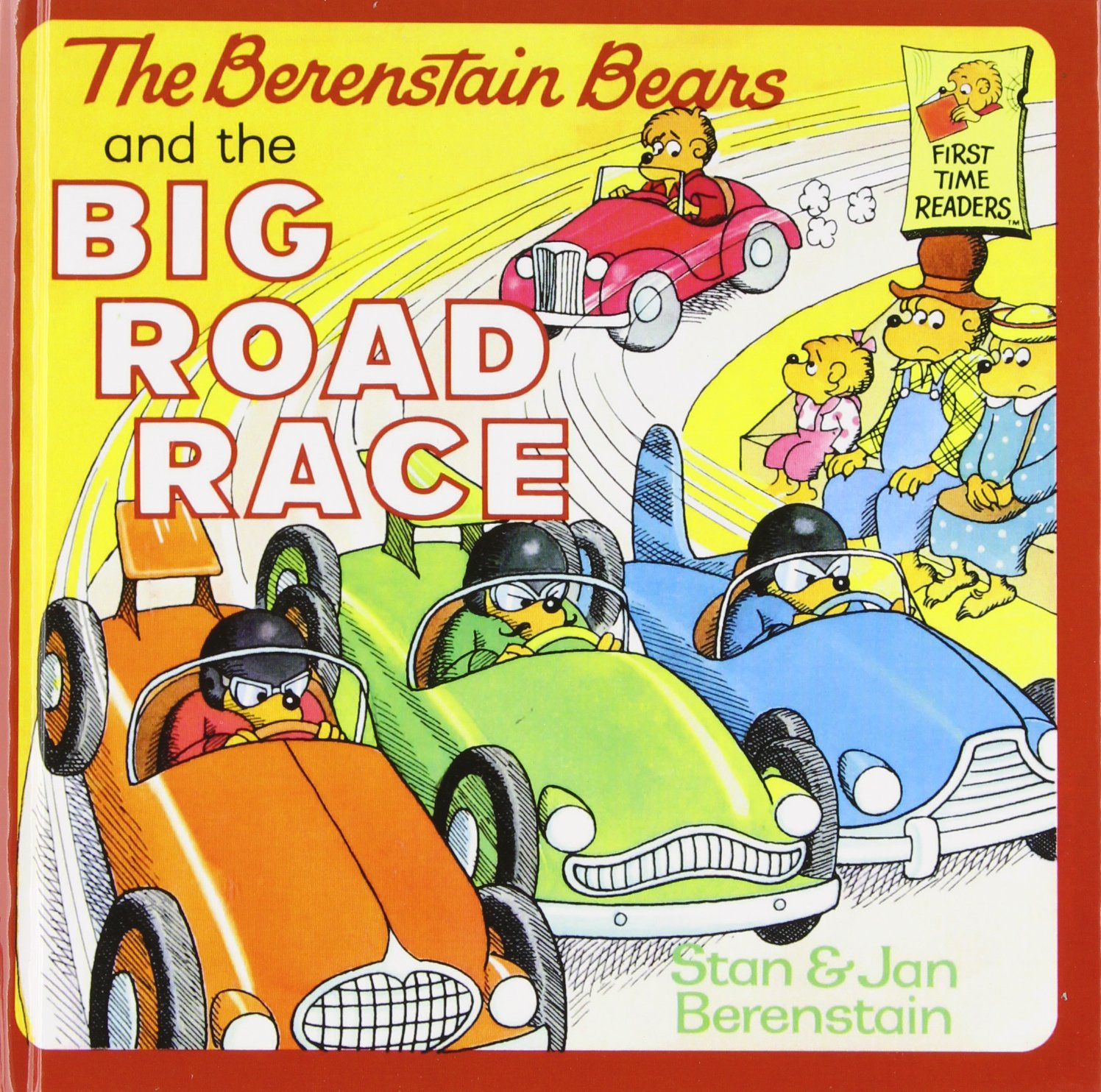 Read Online The Berenstain Bears and the Big Road Race (First Time Readers) PDF