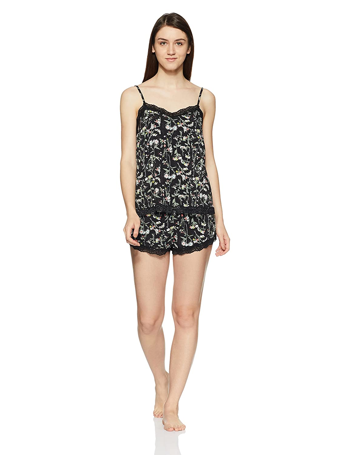 97d60f5d Marks & Spencer Women's Camisole and Shorts Set (T818798CBLACK MIX12 ...