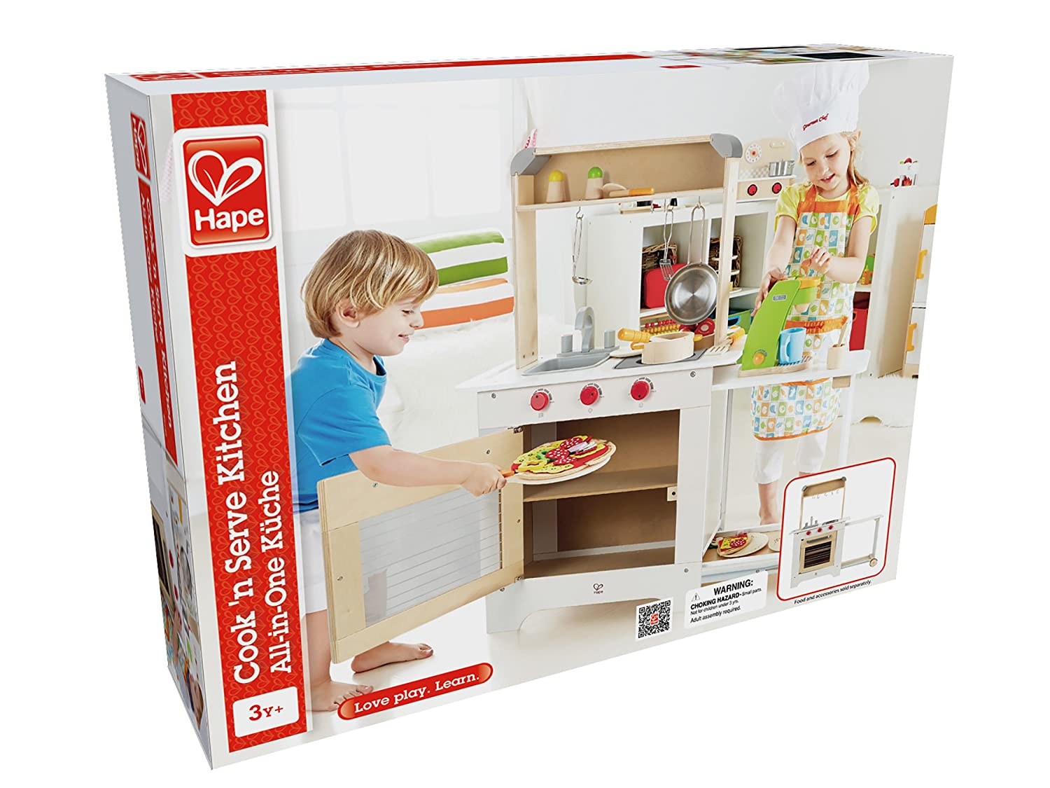 Amazon.com: Award Winning Hape Playfully Delicious Cook \'n Serve ...