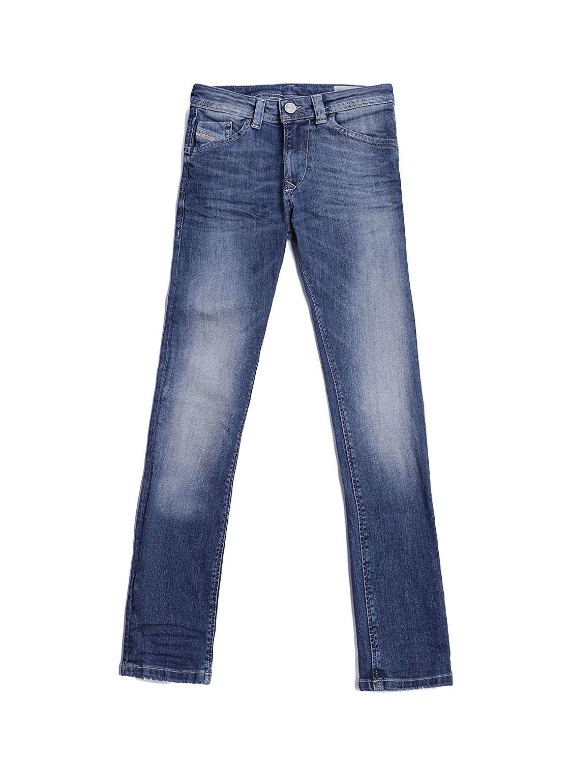 Diesel - Jeans Ragazzi Denim Regular-Slim Fit con Gamba Affusolata Darron