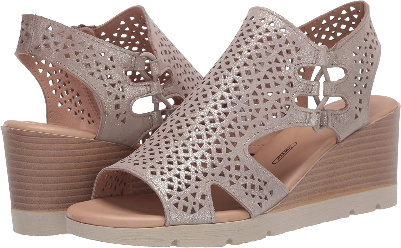 Rockport Womens Slide Wedge Sandal