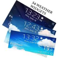 Beautiful S4 Weather Widgets