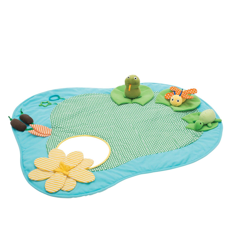 Manhattan Toy Playtime Pond Multi-Sensory Activity Playmat Baby Toy