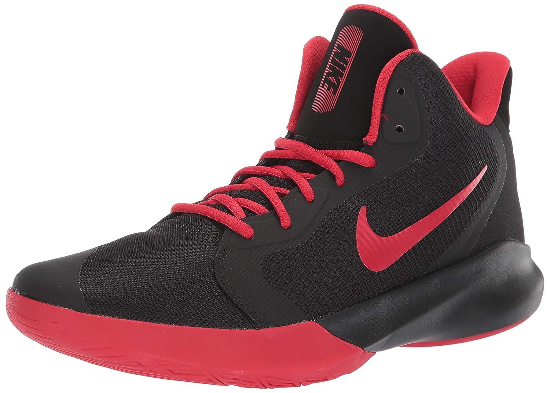 Noir (noir University rouge 000) Nike Precision III, Chaussures de Basketball Homme 45.5 EU