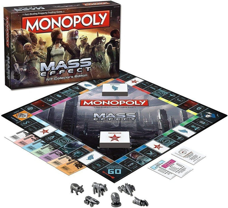 Monopoly 002572 Mass Effects - Juego de Mesa [en inglés], Multicolor: Amazon.es: Juguetes y juegos