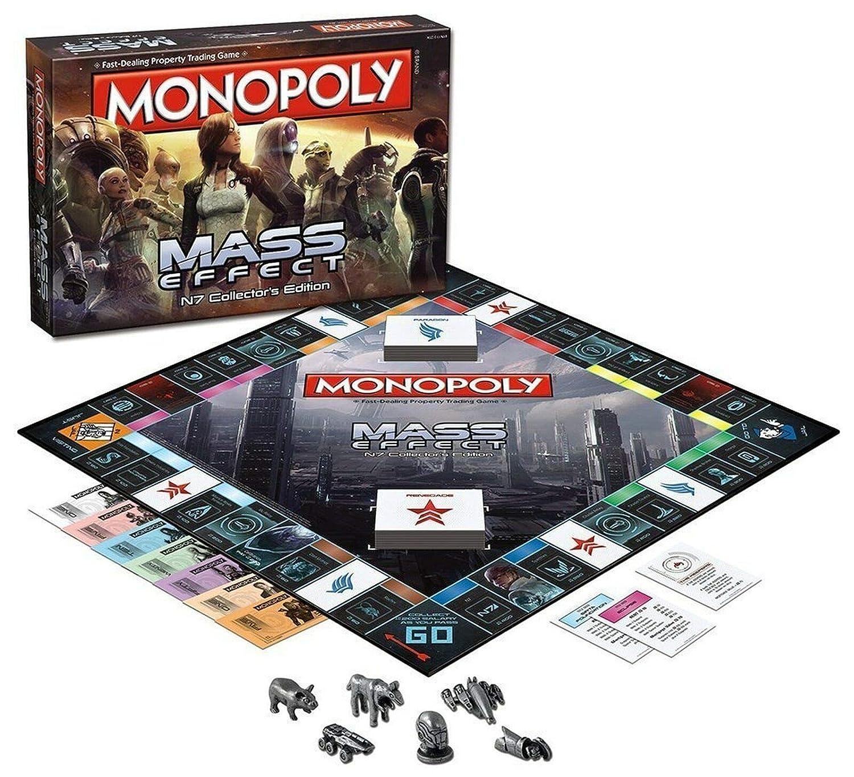Monopoly 002572 - Efectos de Masa: Amazon.es: Juguetes y juegos