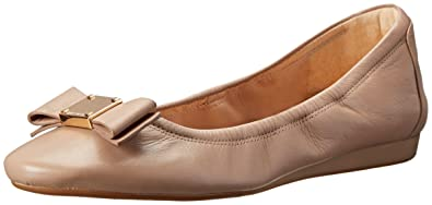 5193fd3b3 Cole Haan Women's Tali Bow Ballet Flat, Maple Sugar Leather, ...
