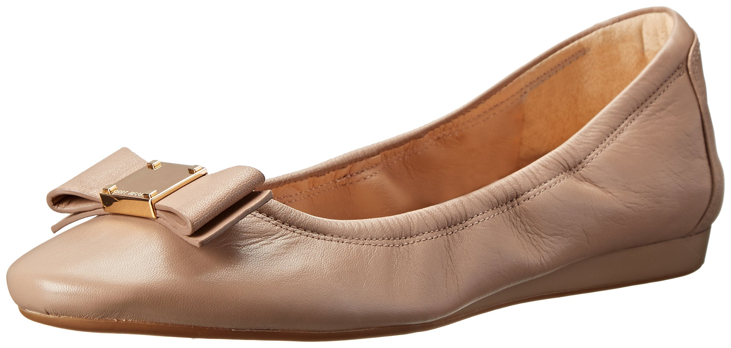 Cole Haan Women's TALI BOW BALLET Shoe, Maple Sugar Leather, 10 B US by Cole Haan
