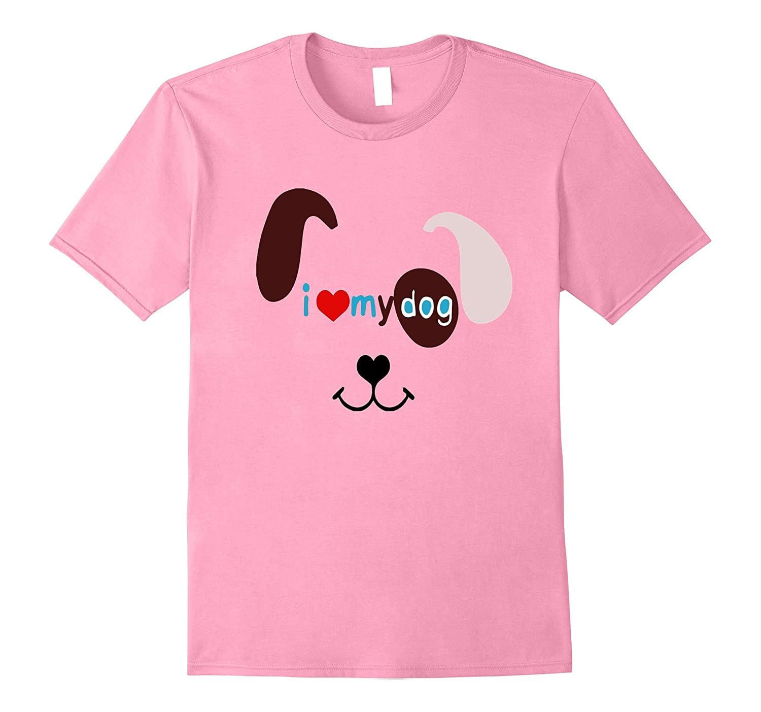 I LOVE MY DOG T-Shirt for Girls, Boys,Teens, Men & Women-AZP
