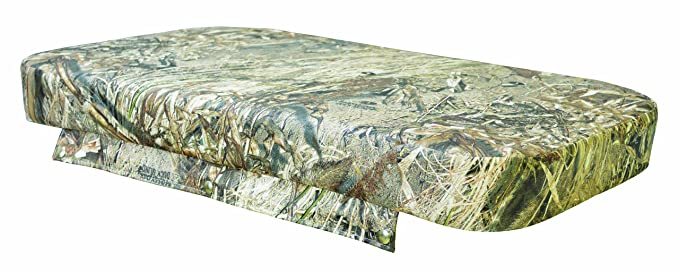 Wise Cooler Seat Cushion, 75-Quart, Mossy Oak Duck Blind Camouflage