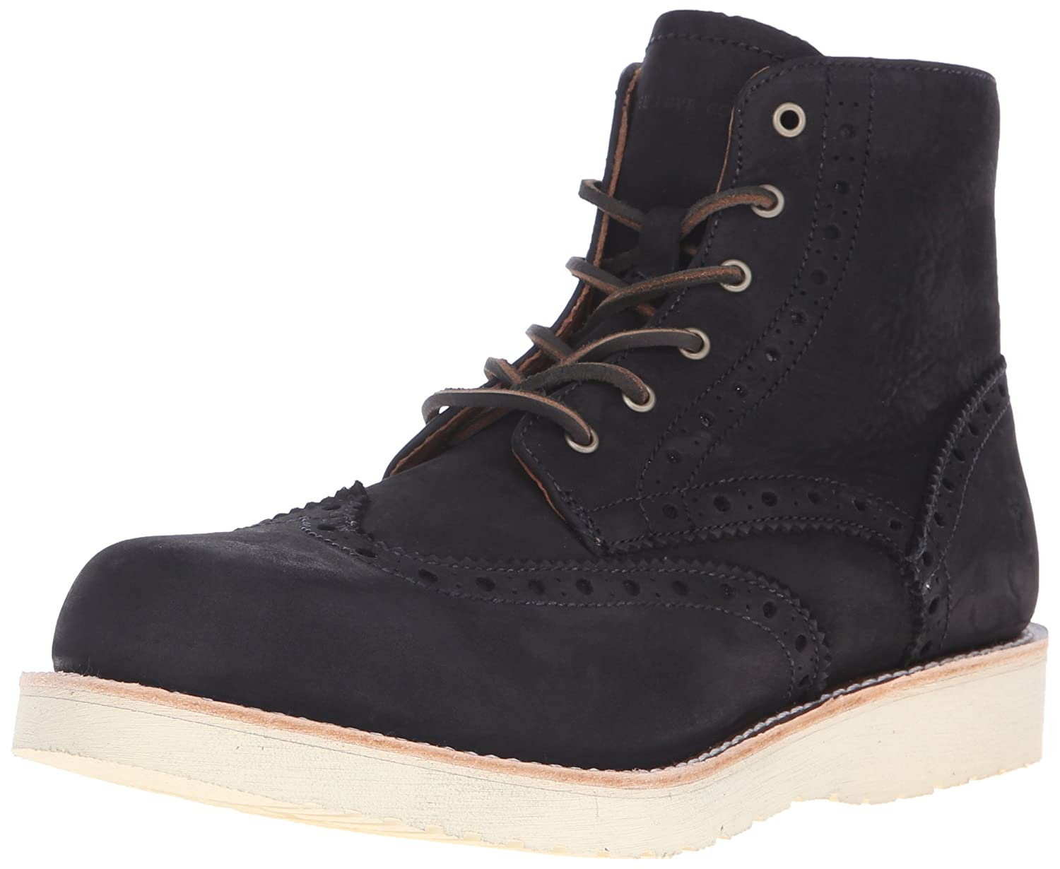 Noir FRYE Men's Arkansas Wedge Wingtip démarrage 40 EU