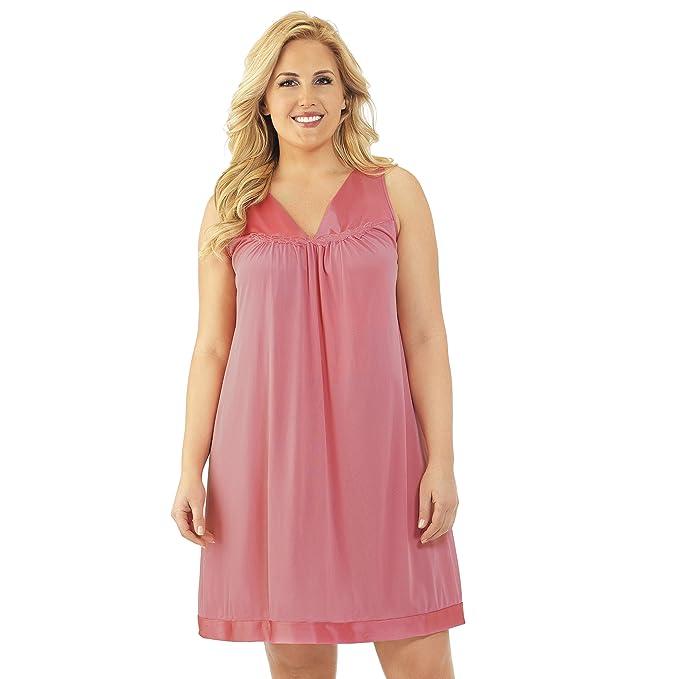 Exquisite Form Women\'s Coloratura Short Gown 30107 at Amazon Women\'s ...