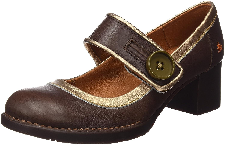 TALLA 38 EU. Art 0089 Memphis Bristol, Zapatos de tacón con punta cerrada para Mujer