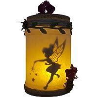 Campanilla capturada en tarro luminoso,luz quitamiedos habitación de bebe luz de ambiente