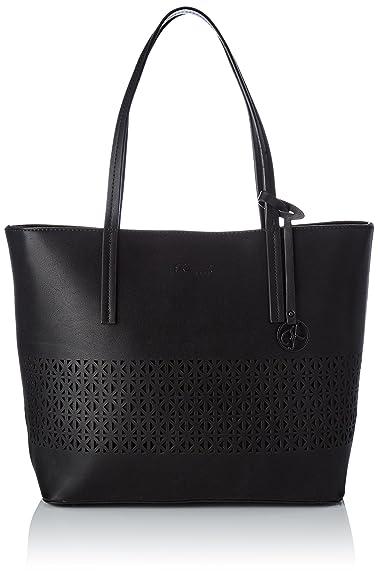 4d98f845e2 Kaporal femme Nocel Sac porte main Noir (Black): Amazon.fr ...