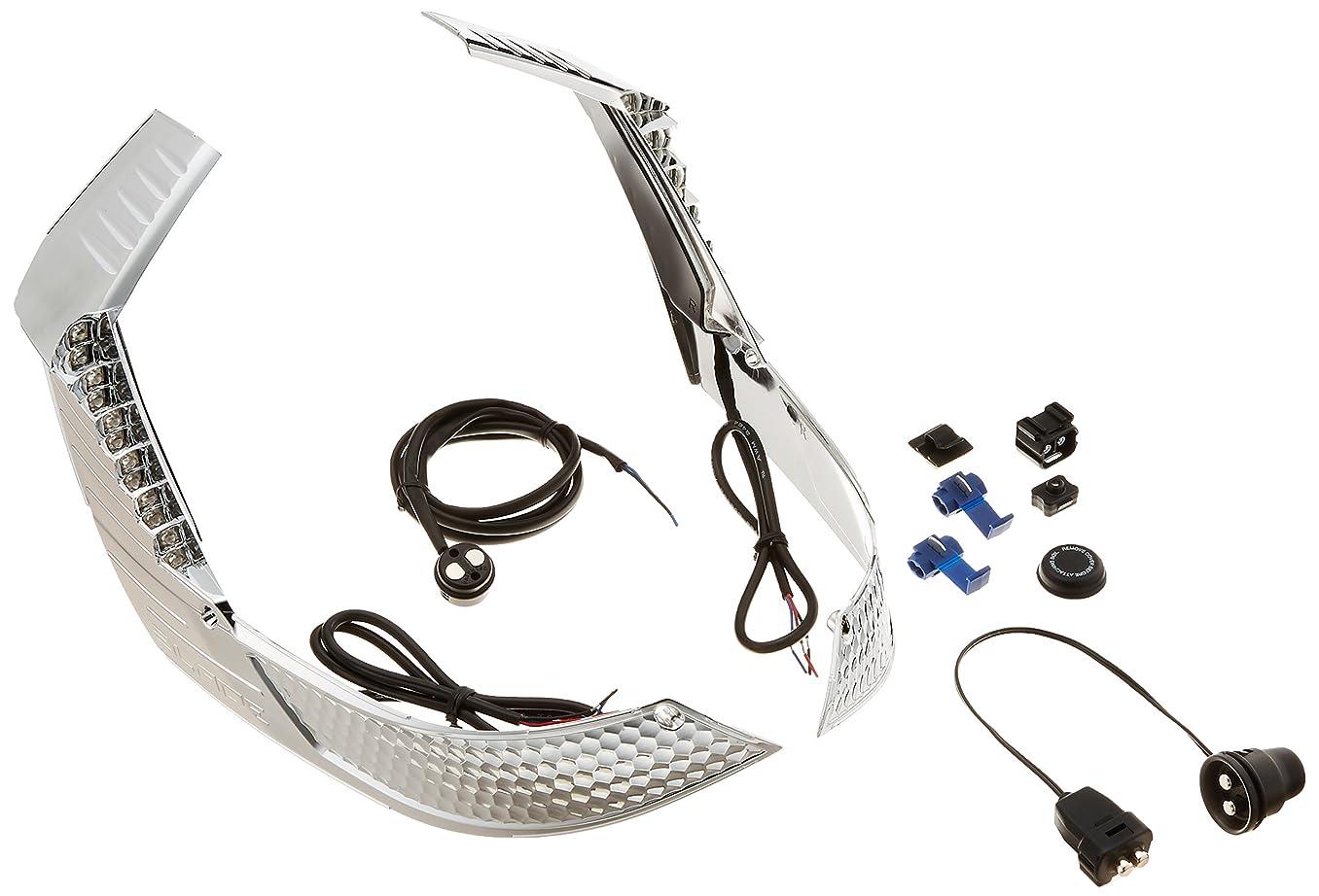 電球デコラティブ遅れCamelight最新モデル 青色光付き CCFLバイク用LEDヘッドライトH4 / HS1 Hi/Lo直流 DC 12V / 24V汎用ホワイトライト6000K(青色)