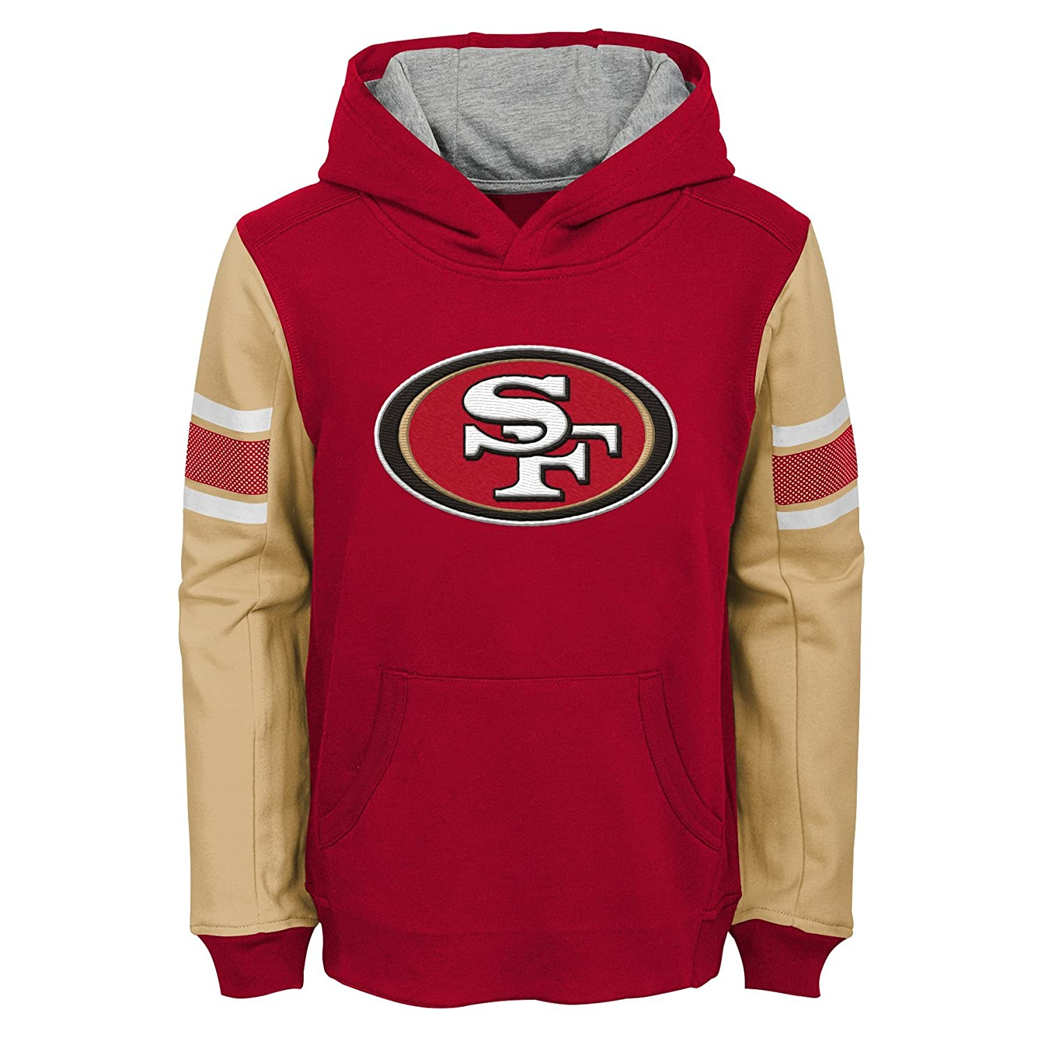 NFL Boys Kids   Youth Boys Man in Motion Pullover Hoodie 9K1B7FACX BRC  B80-BXL20 8c38d7e26