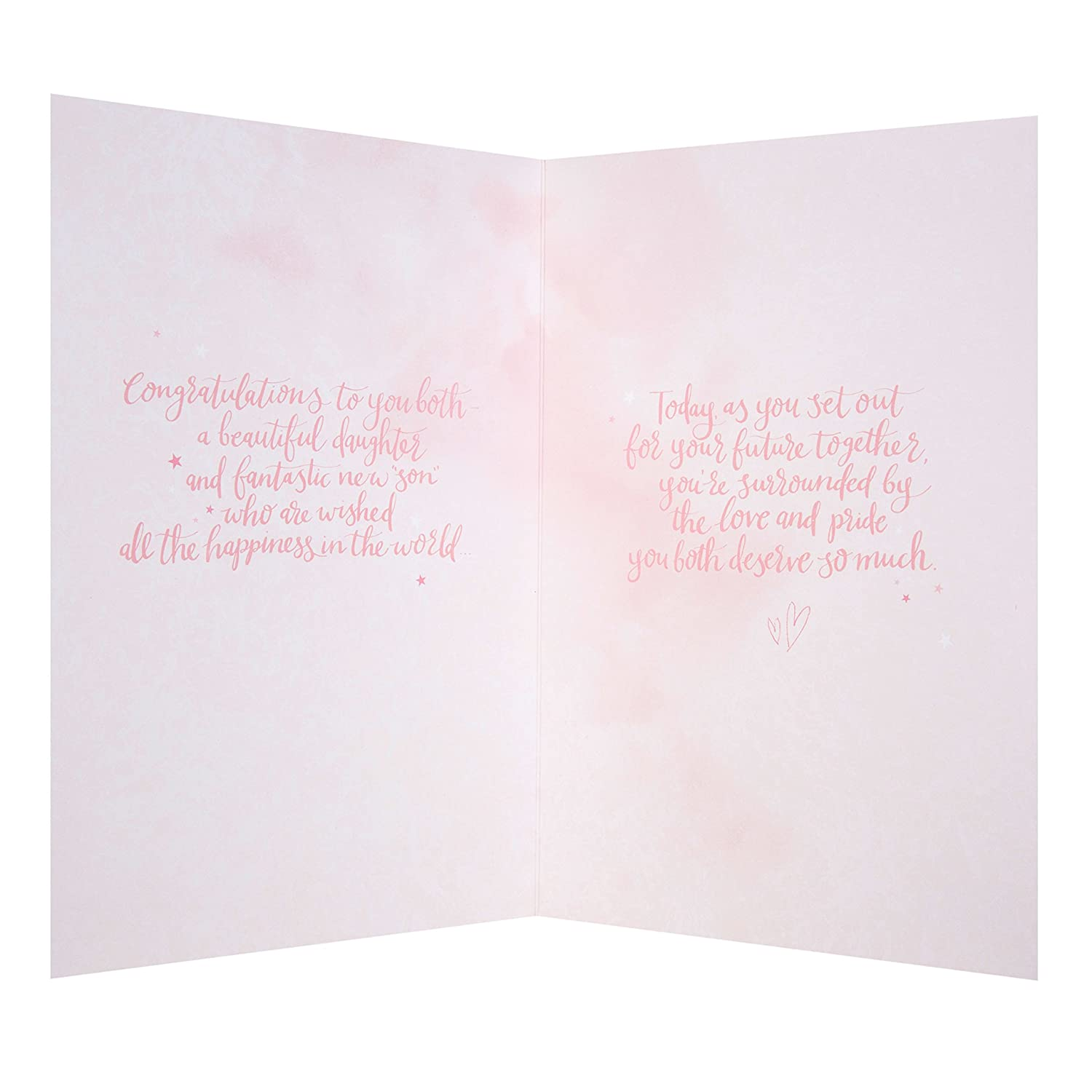 Amazon Hallmark Daughter and Son in Law Wedding Card