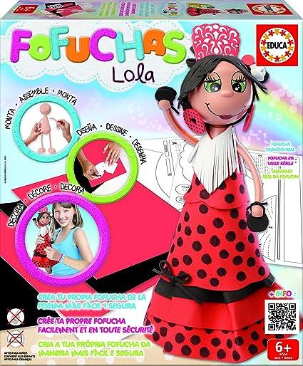 Amazon Es Educa Borras Fofuchas Lola Juego Creativo 16374