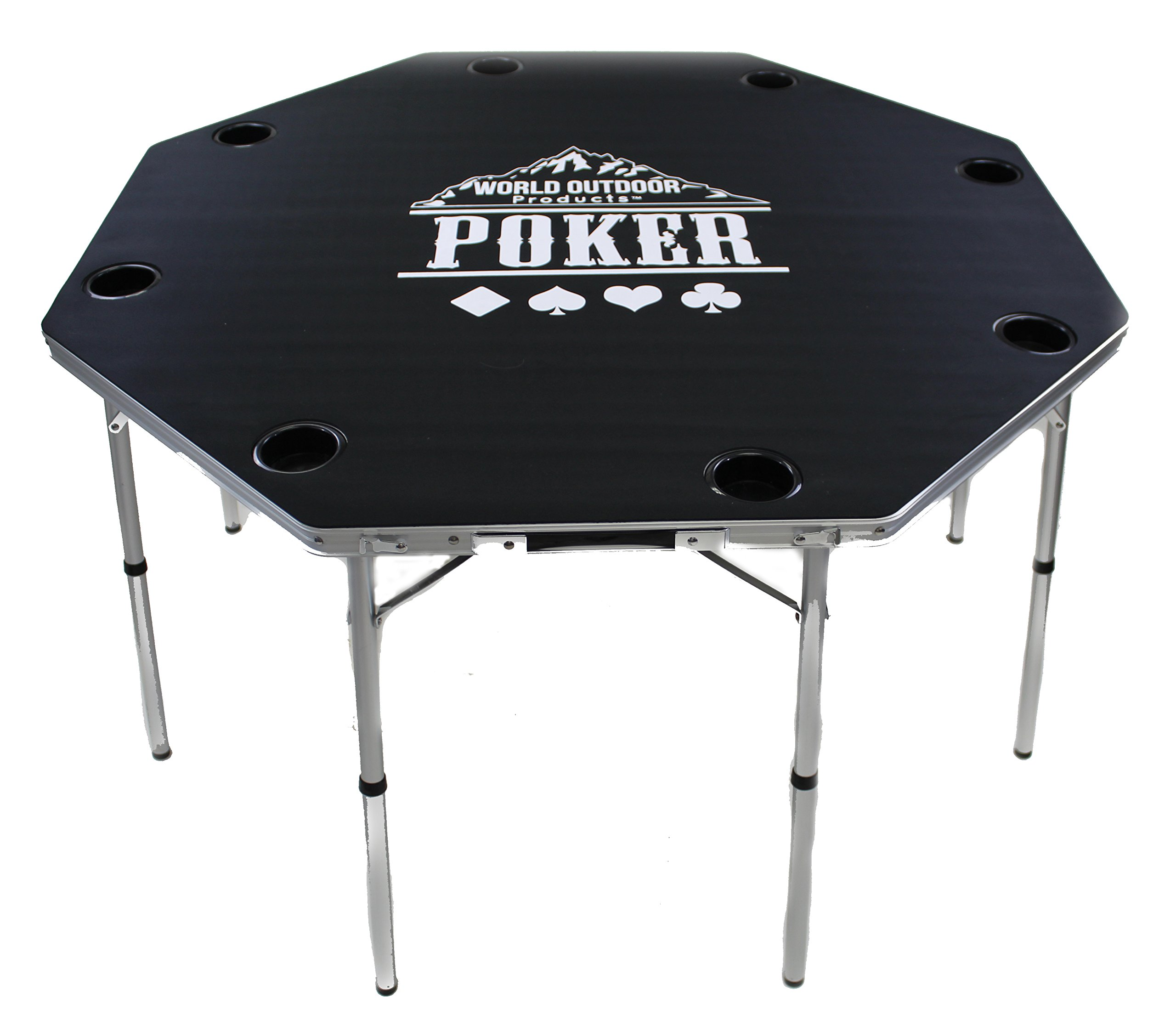World Outdoor Products New Design PROFESSIONAL Multi-Purpose CARD PLAYING GAME TABLE for 2017. by World Outdoor Products (Image #1)