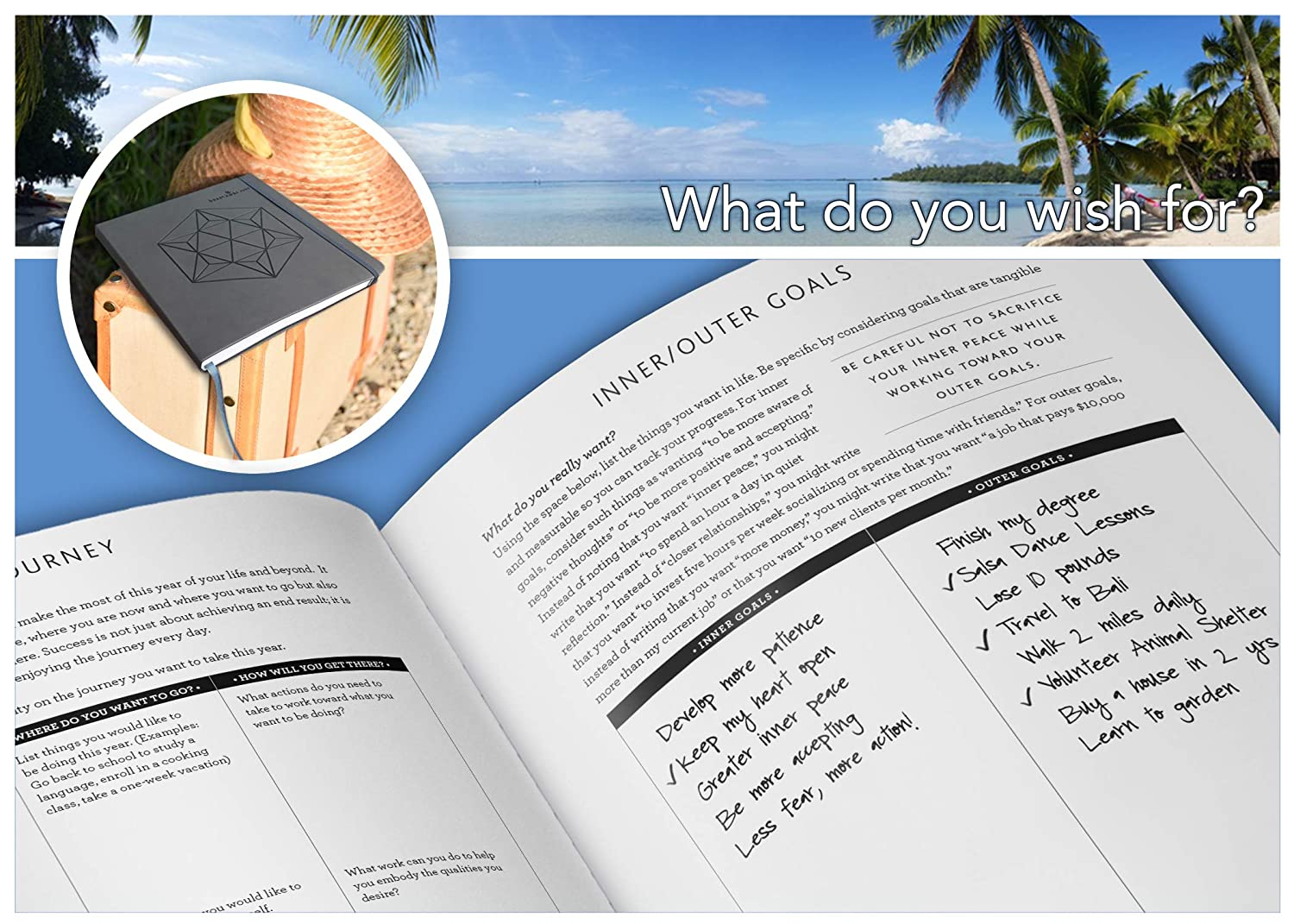 Innerguide 2019 Goal Life Planner Weekly Monthly Dance Footprint Diagrams Basic Salsa Step Diagram Organizer Appointment Book Journal Jan Dec Faux Leather Cover Office Products