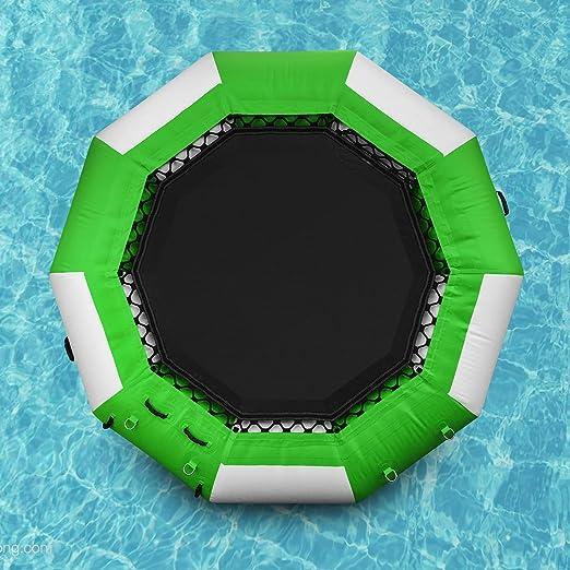 Popsport Inflatable Water Trampoline Series Splash Padded Water Bouncer