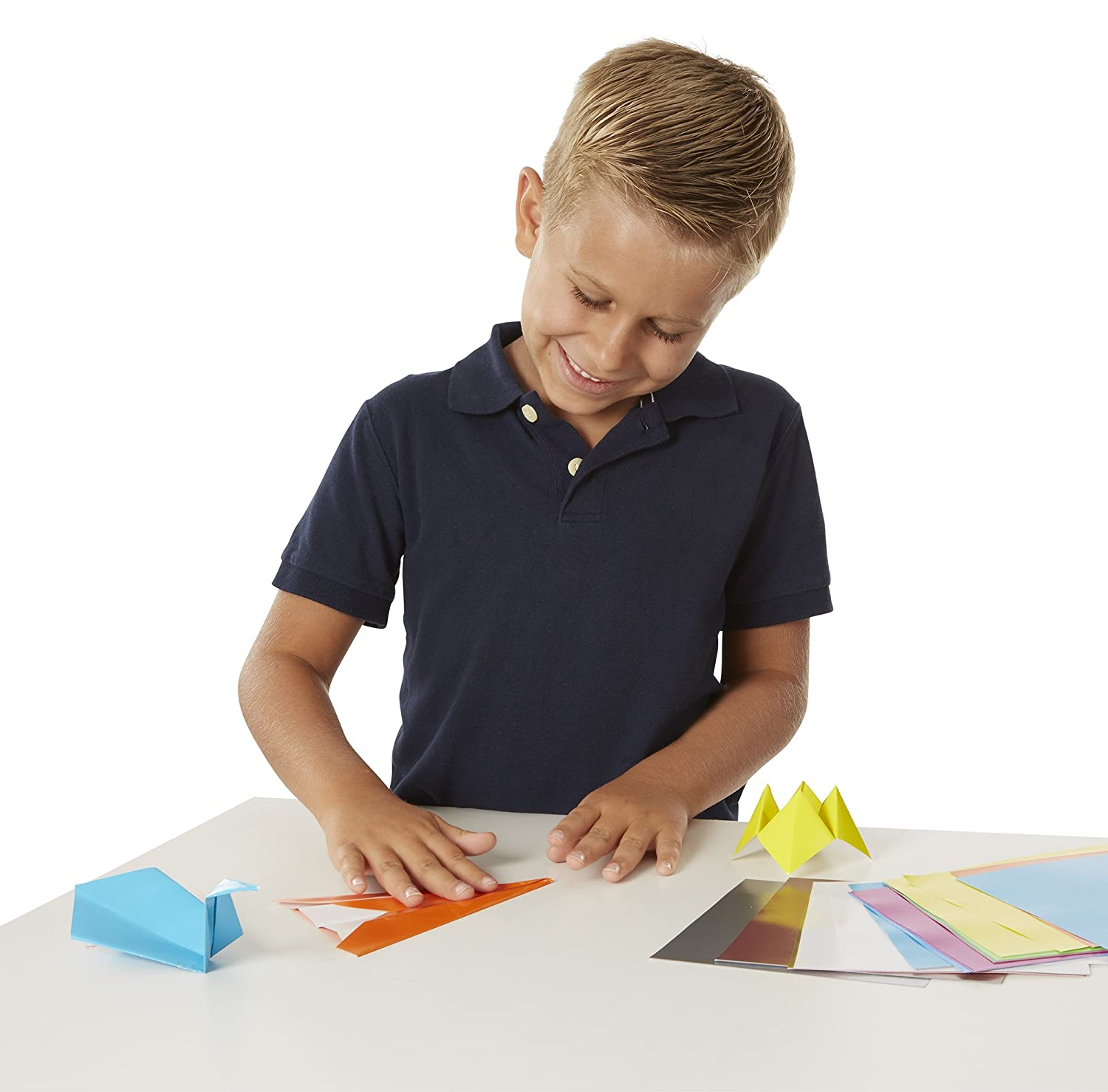 6 inches x 6 inches With 51 Sheets Melissa /& Doug Origami Paper