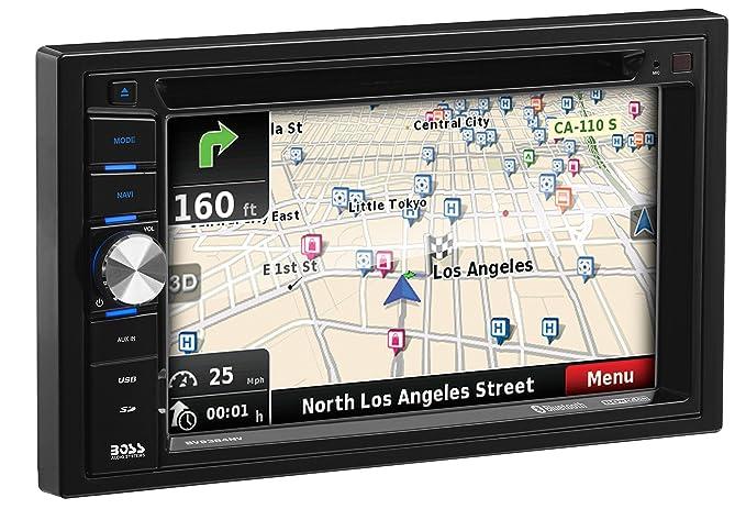 amazon com car navigation boss audio bv9384nv double din 6 2 rh amazon com