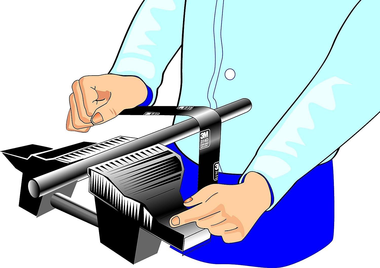 Roll VSM Abrasives Co. Roll VSM 314413 Abrasives Cloth 400 Grit 1 1//2 x 50 yd 1 1//2 x 50 yd