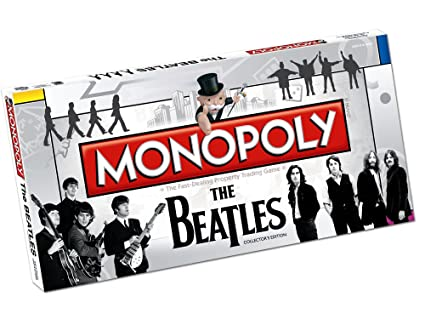 Amazoncom Usaopoly The Beatles Monopoly Toys Games