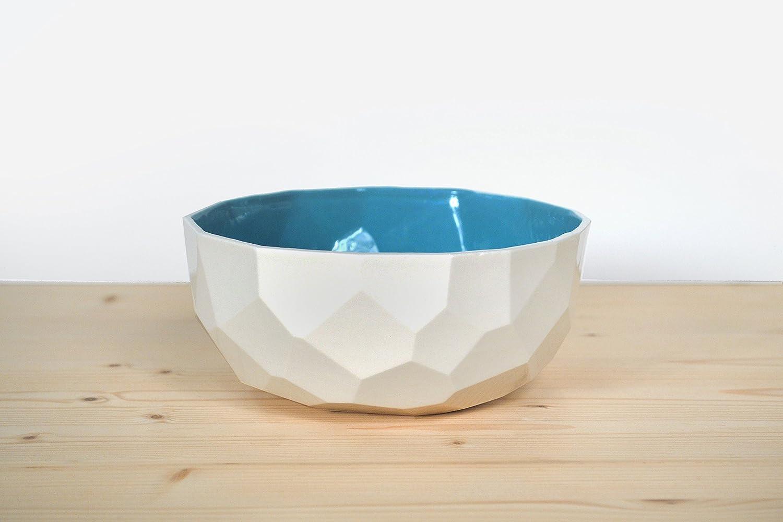 Poligon Schüssel - design - dutch - keramik - handmade - bunt - nudeln - müsli