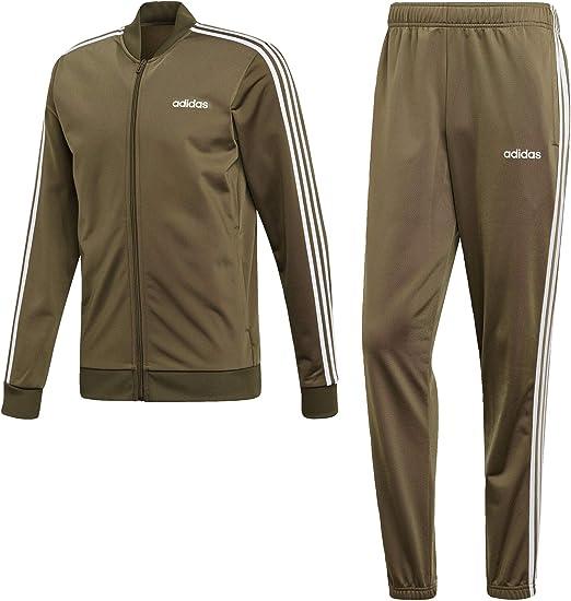 adidas 3 stripe jogging suit mens