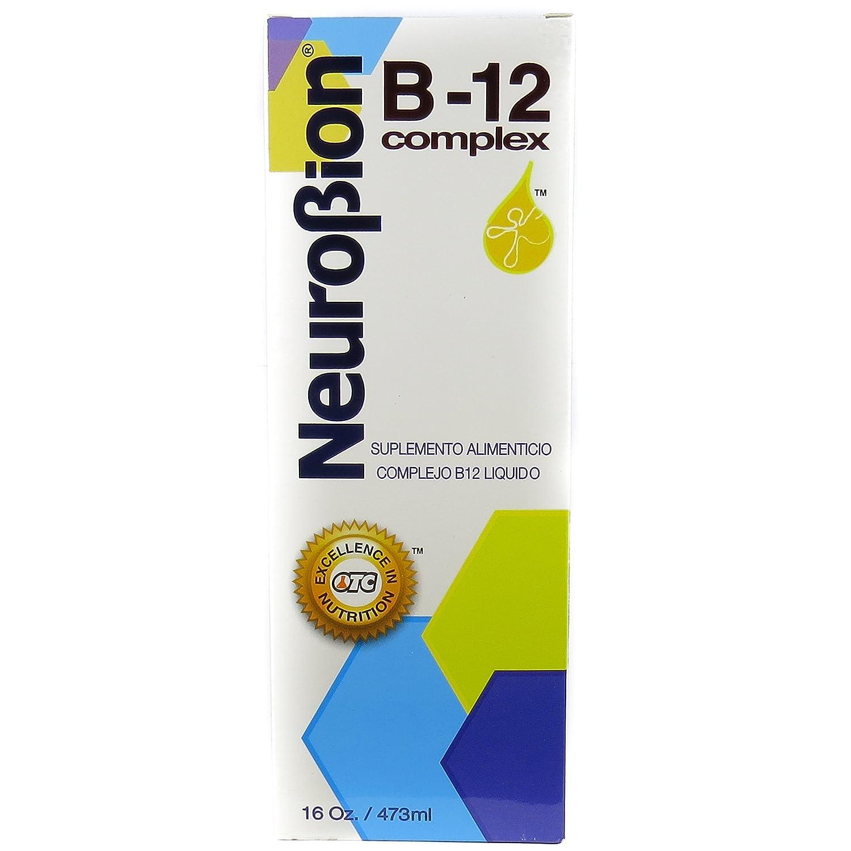 Neurobion Vitamin B12 Complex 16 Oz Liquid Citrus Flavor
