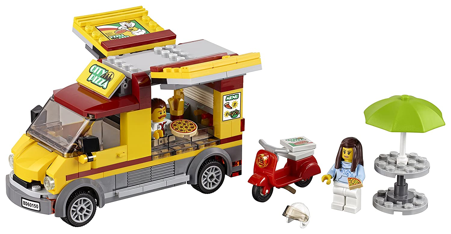 LEGO City Great Vehicles Pizza Van