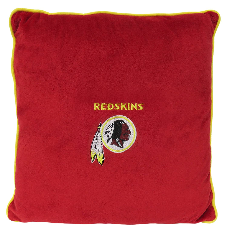 NFL WASHINGTON REDSKINS Soft & Cozy  Dog Pillow. Plush & Comfortable Pet Pillow