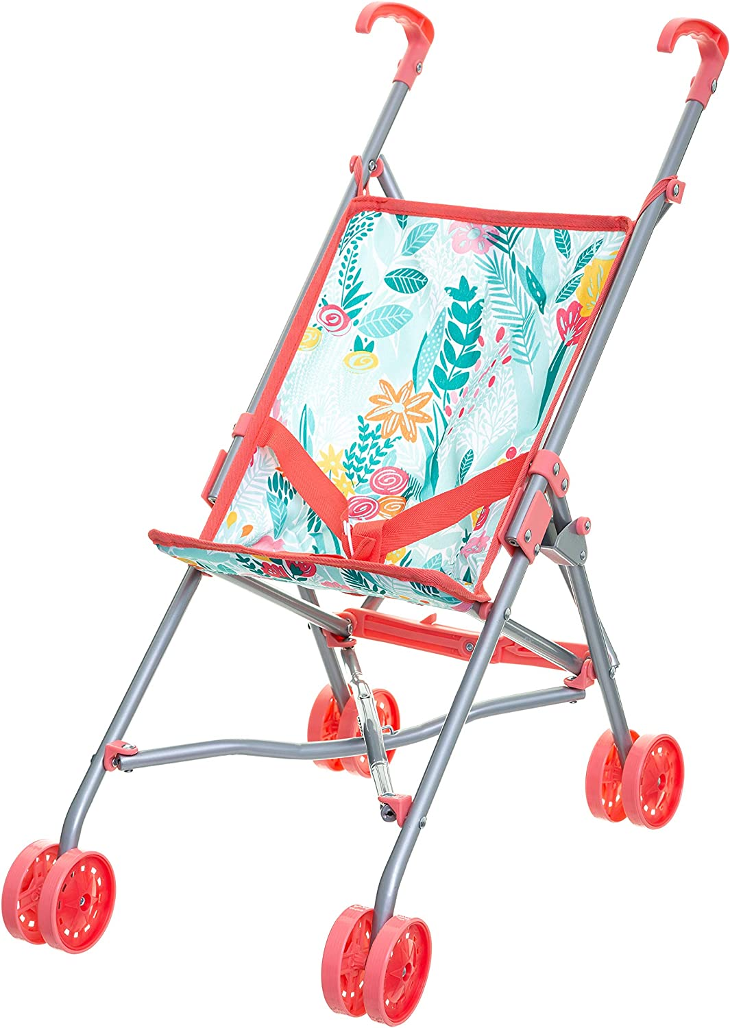 Multicolore Betoys Poussette Canne Enfant 158906 Jungle