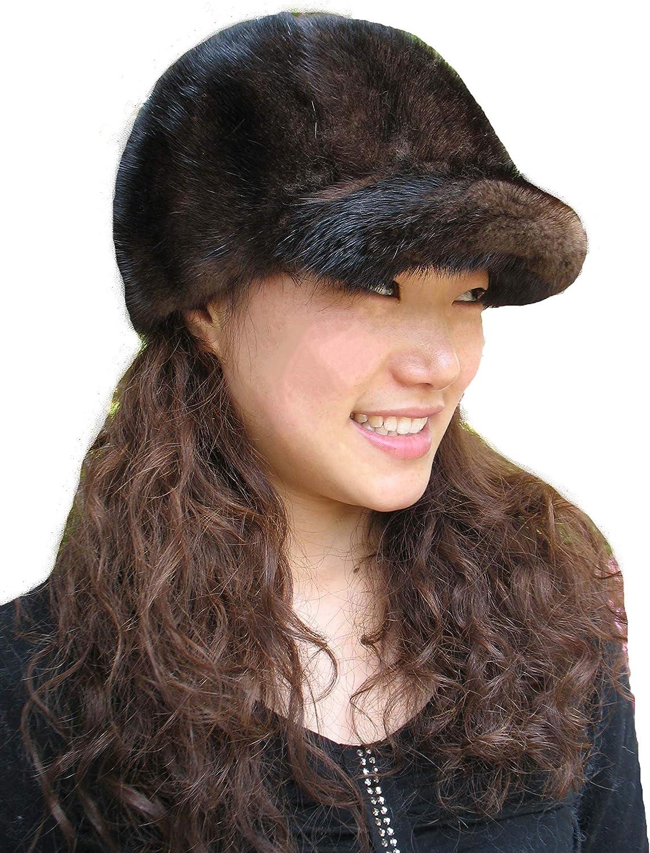 Real Mink Fur Hand-Made Hat...