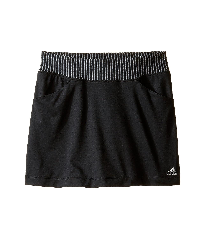 [アディダス] adidas Golf Kids ガールズ Rangewear Skorts (Big Kids) スカート Black MD (10-12 Big Kids) [並行輸入品]   B01N4WIABL