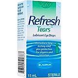 ALLERGAN Refresh Tears Lubricant Eye Drops, 15ml