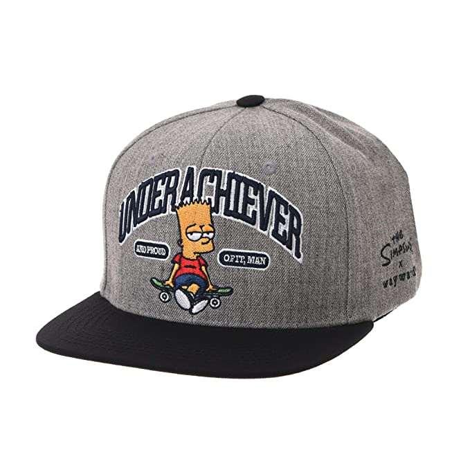 Gorra de Trucker Sombrero de The Simpsons Baseball Cap Bart Simpson https://amzn.to/2tzrNQe