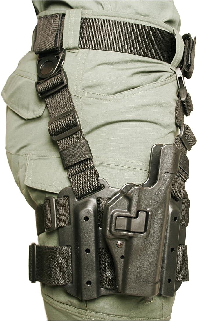Glock S/&W Beretta NEW BLACKHAWK DROP LEG HOLSTER Base Unit for Sig etc