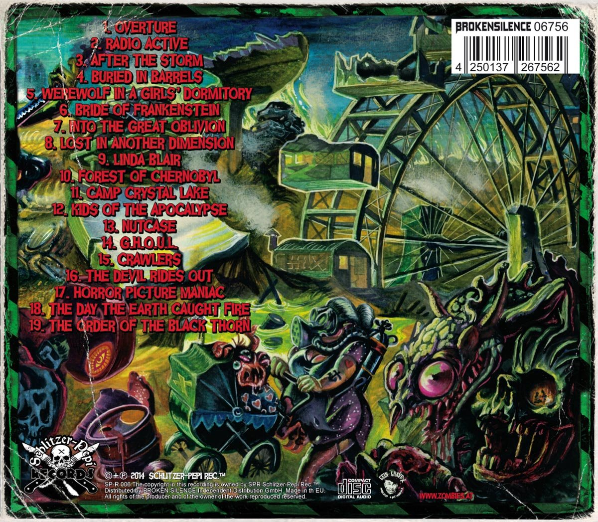 Toxic Terror Trax: Bloodsucking Zombies from Outer Space: Amazon.es: Música