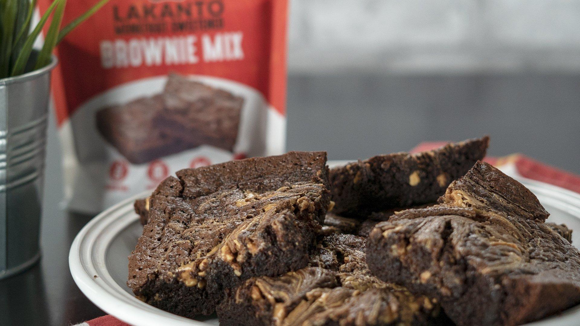 Lakanto Sugar-Free Brownie Mix | 3 net carbs | (Gluten-Free, 16 Servings) by Lakanto (Image #3)