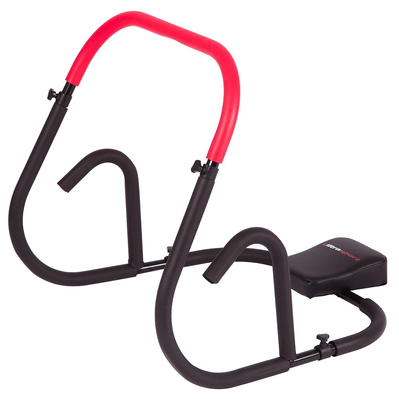 Ultrasport AB Trainer Un Trainer Addominale Professionale per allenare a casa in Modo intensivo i Muscoli Addominali Pieghevole e Non ingombrante