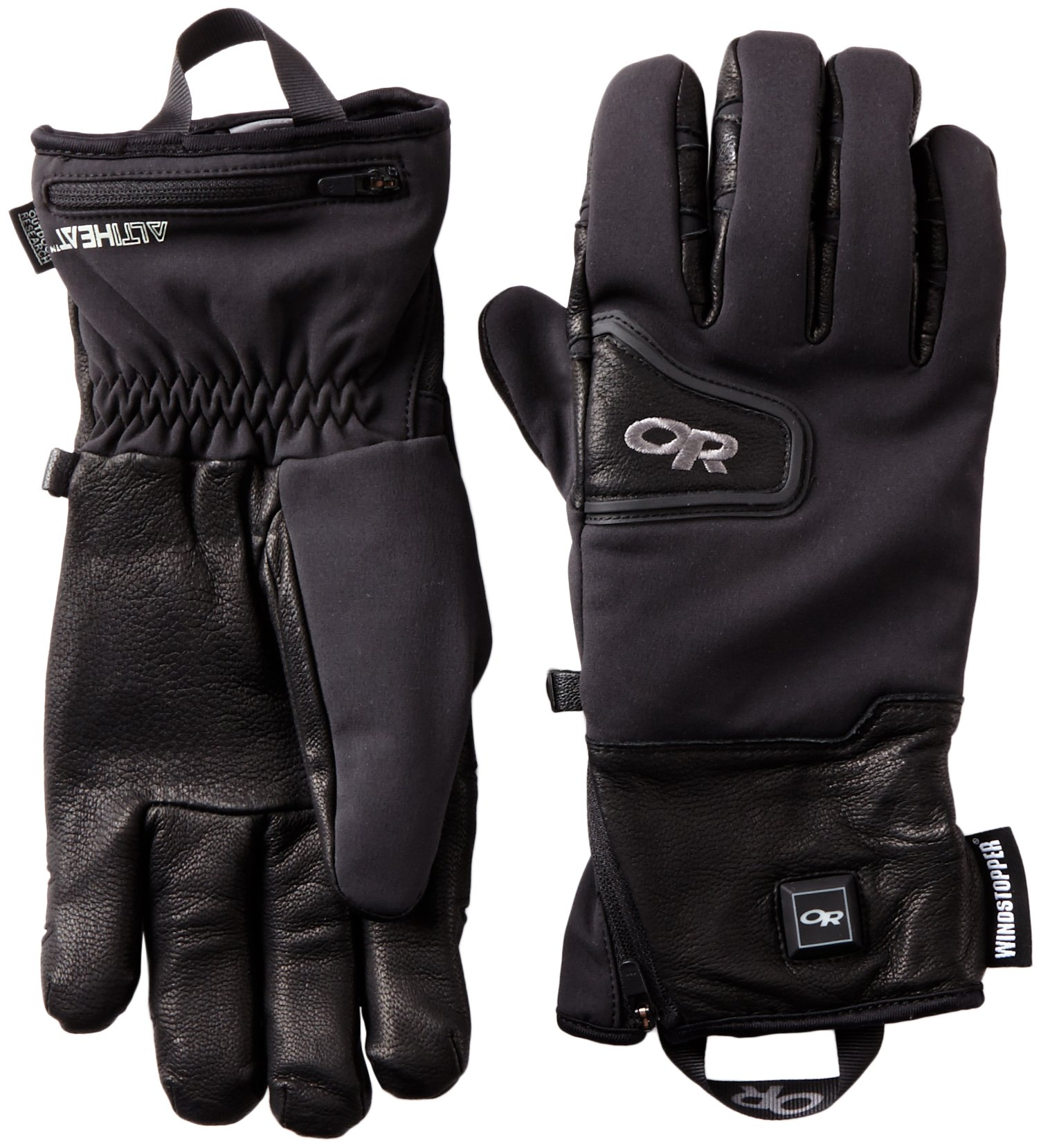 Outdoor Research Stormtracker Heated Gloves, Black, Large by Outdoor Research