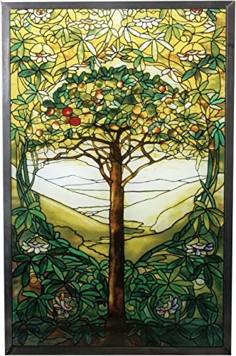 YTC Summit 10 Inch Stained Glass Tiffany – Tree of Life Art Glass