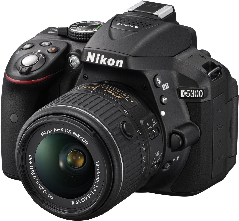Nikon D5300 Digital Slr Camera With 18 55 Vr Lens And Parts Diagram F3 P Electronics