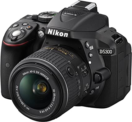 1aee5710b91 Nikon D5300 Digital SLR Camera with 18-55mm VR Zoom: Amazon.in: Electronics