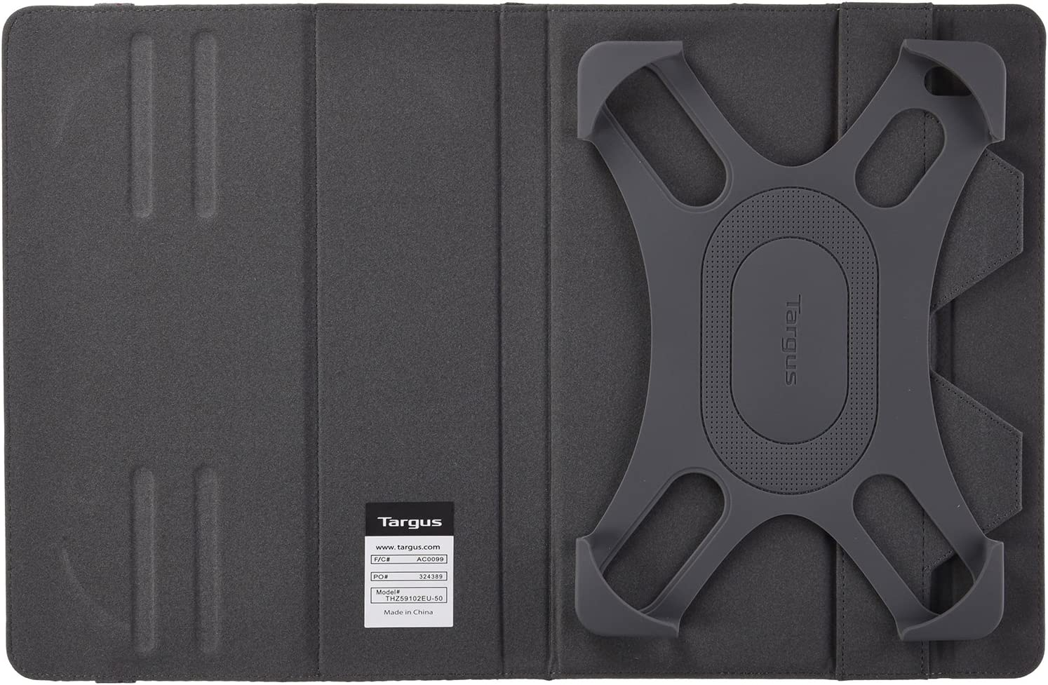 """Targus THZ59102EU - Funda Universal Fit N Grip para tabletas de 9-10"""", Color Gris: Amazon.es: Informática"""